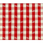 Brindille Red Fabric