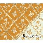 Entrelacs Yellow Fabric