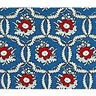 Servannes Blue|Red Fabric